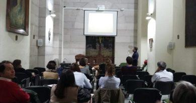 Segunda charla en la cripta de la Almudena